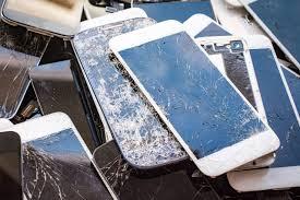 zepsute smartphony